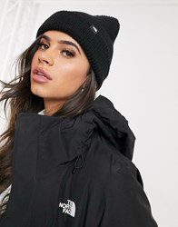 The North Face Free Beanie In Black