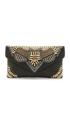 Ash Zuma Embroidered Clutch