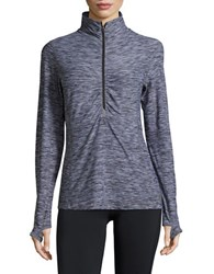 New Balance Space Dyed Performance Pullover Black White