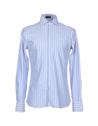Tonello Shirts Shirts Men Sky Blue
