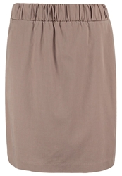 Opus Raggy Aline Skirt Pebble Stone Light Grey