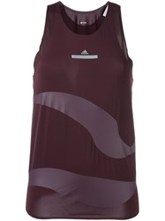 Adidas By Stella Mccartney Fitness Tank Top Pink And Purple