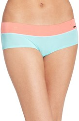 Women's Kensie 'Kate' Hipster Bikini Briefs Aruba Blue