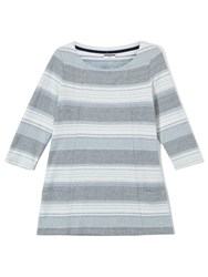 Dash Stripe Textured Tunic Multi Coloured Multi Coloured