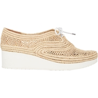 Robert Clergerie Vicolei Wedge Oxfords Natural