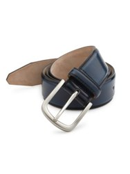 Saks Fifth Avenue Cordovan Leather Belt Green Tobacco Navy Grey Brown