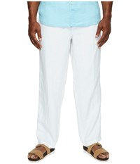 Tommy Bahama Big And Tall Big Tall New Linen On The Beach Pant White Casual Pants