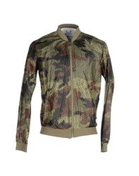 Joe Rivetto Coats And Jackets Jackets Men Military Green