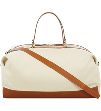 Globe Trotter Propellor Weekend Bag Tan