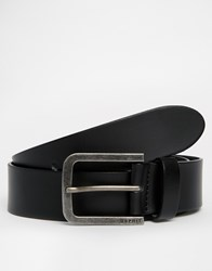 Esprit Zilan Leather Belt Black