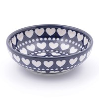 Bunzlau Castle Serving Bowl Blue Valentine Small