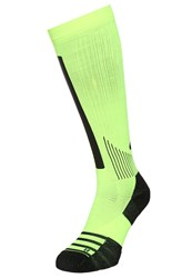 Nike Performance High Intens Otc Sports Socks Volt Black Neon Yellow