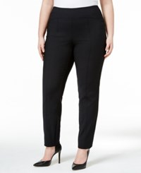 Alfani Plus Size Skinny Pants Only At Macy's Deep Black