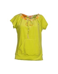 Blumarine Beachwear Sweatshirts Acid Green