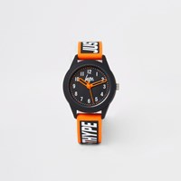Hype River Island Boys Black Colour Pop Watch
