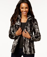 Jm Collection Faux Fur Jacket Only At Macy's Marble Fur