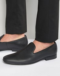 Aldo Vanrena Leather Slip On Shoes Black