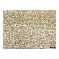 Chilewich Metallic Lace Rectangle Placemat Gold