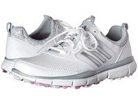 Adidas Adistar Sport Ftwr White Matte Silver Wild Orchid Tmag Women's Golf Shoes