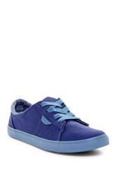 Reef Ridge Lace Up Sneaker Women Blue