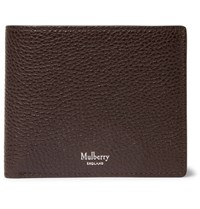 Mulberry Full Grain Leather Billfold Wallet Dark Brown