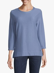 Betty And Co. Textured Top Colony Blue