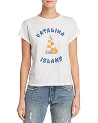Michelle By Comune Catalina Graphic Tee Vintage White