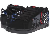 Etnies Fader X Metal Mulisha Black Blue White Men's Skate Shoes