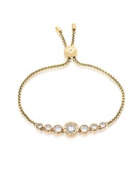 Michael Kors Brilliance Goldtone Bracelet W Crystals