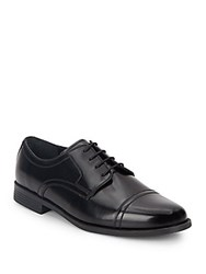 Cole Haan Collen Cap Toe Leather Oxfords Black