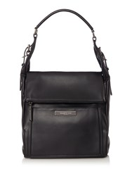 Kenneth Cole Hudson Hobo Handbag Black
