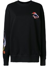 G.V.G.V. Embroidered Sweatshirt Black