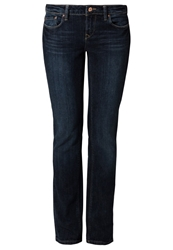 Edc By Esprit Straight Leg Jeans Dark Stone Dark Blue