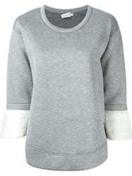 Moncler Padded Top Grey