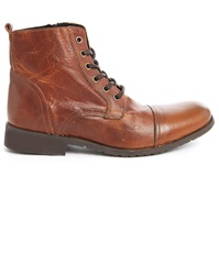 Selected Sel Taylor Brown Leather Boots