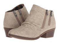 Blowfish Storz Light Taupe Rancher Canvas Zip Boots