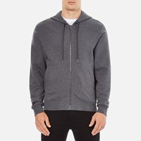 Versace Collection Men's Zipped Tracksuit Jacket Grigio