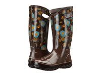 Bogs Watercolor Rain Boot Brown Multi Women's Rain Boots