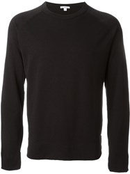 James Perse Knit Sweater Black