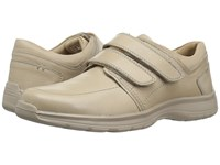 Hush Puppies Luthar Henson Sport White Leather Men's Hook And Loop Shoes
