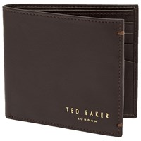 Ted Baker Anthonys Leather Bifold Wallet Black