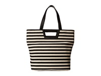 Bcbgeneration Tote Black Natural Combo Tote Handbags