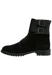 Belstaff Thayer Laceup Boots Black