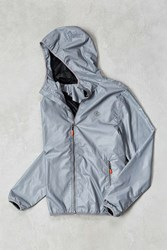 Icny Sport Reflector Windbreaker Jacket Silver