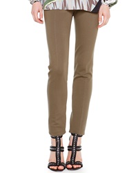 Emilio Pucci Zip Pocket Punto Milano Leggings