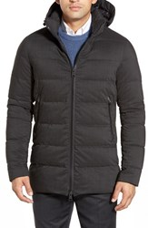 Men's Herno 'Laminar' Quilted Parka With Removable Hood