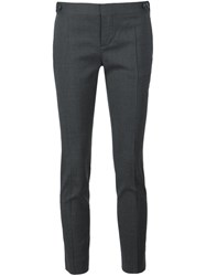 Dsquared2 Cropped Cigarette Trousers Grey