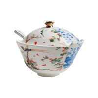 Seletti Hybrid Maurilia Sugar Pot With Spoon
