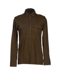 Lab. Pal Zileri Shirts Military Green