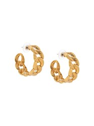 Jennifer Behr Tara Chain Hoop Earrings 60